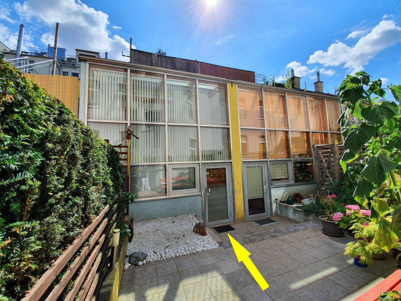Foto - Innenhof-Wohntraum mit 25 m² Dachterrasse Nähe U3